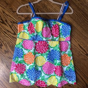 Lilly Pulitzer top, size 14
